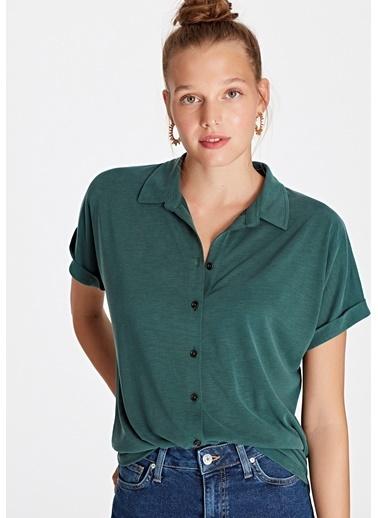 Mavi Modal Yeşil Bluz Yeşil